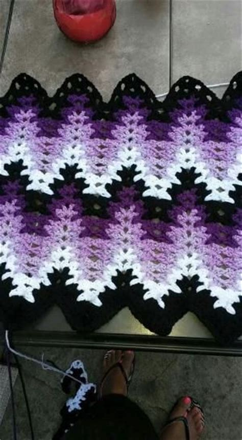 amish crochet patterns 13 best images about lacy chevron afghan on pinterest