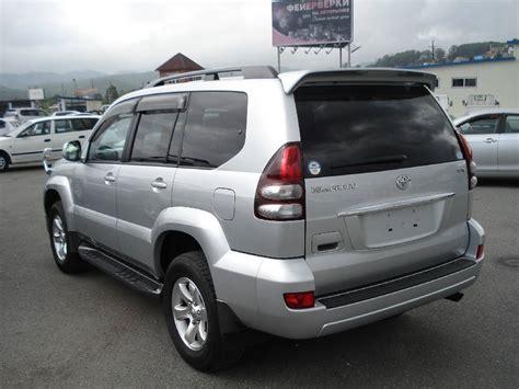 Toyota Land Cruiser 2007 2007 Toyota Land Cruiser Prado Pictures 2 7l Gasoline