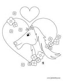 88 dessins de coloriage fleur coeur 224 imprimer