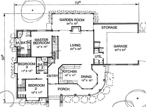 the curve floor plan curved wrap around porch 3007d 1st floor master suite