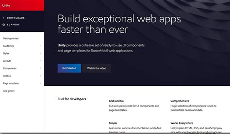 unity layout system front end web design brad frost