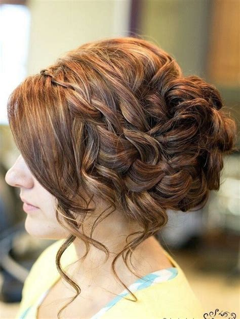 formal hairstyles messy bun with braid 14 prom hairstyles for long hair that are simply adorable