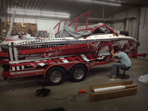 boat wraps at digital ink design and graphics baxter mn - Boat Wraps Mn