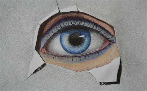 dibujo de ojo con lagrima realizado con lapices de grafito c 243 mo dibujar un ojo con l 225 pices de colores y pastel arte