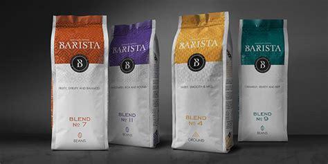 coffee shop packaging design soyuz coffee roasting barista daily package design