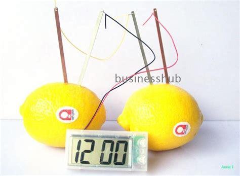 Fruit Powered Clock by 72pcs Science Product Fruit Potato Clock Clock Wholesale