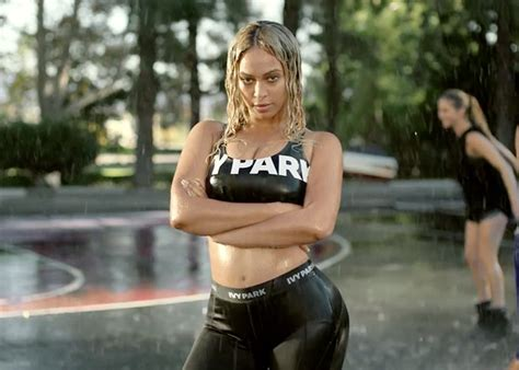 Beyonces Clothing Range Aimed At Normal by Beyonce Reveals New Sportswear Collection Park