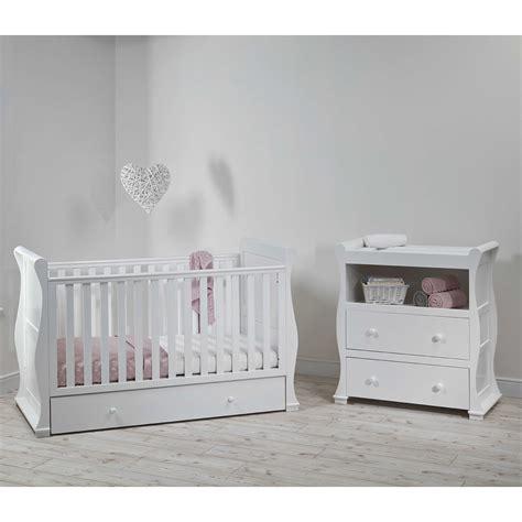 east coast alaska sleigh cot bed nursery furniture set reviews
