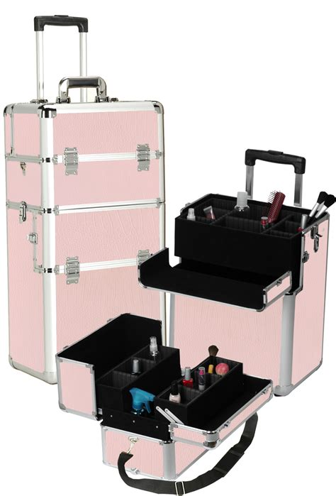 Makeup Drawers On Wheels New Professional Rolling Makeup Organizer Cosmetic