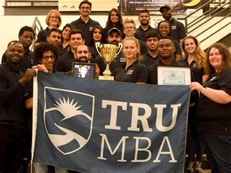 Mba After Ca by Tru Students Win Bc Mba Trophy Cus