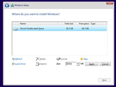 install windows 10 reformat install windows 10 from usb flash drive dvd with screenshots