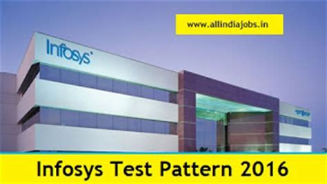 Mba In Infosys India by Infosys Test Pattern 2016 And Syllabus All India