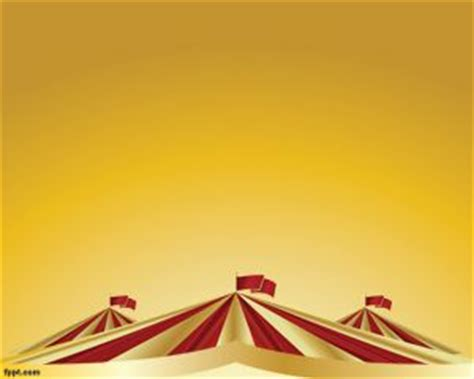 powerpoint themes carnival circus powerpoint template