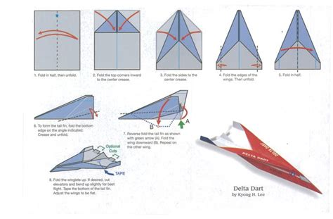 How To Make One Of The Best Paper Airplanes - delta dart jpg 2522 215 1658 paper planes