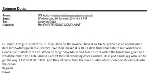 Toyota Complaint Email Address India Indian Scams Sleeping Mistaken Email Stormfront