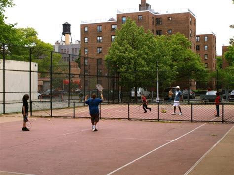 marcy houses tennis takes on new meaning at marcy houses bed stuy ny