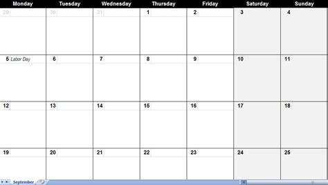 printable quarterly calendar template excel calendar template excel calendars