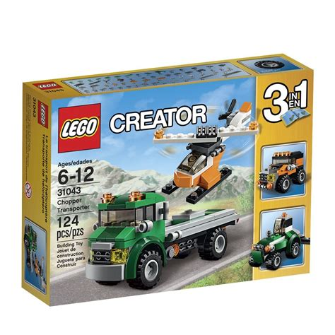 Set 3in1 1 lego creator 31043 chopper transporter 3 in 1 set sets