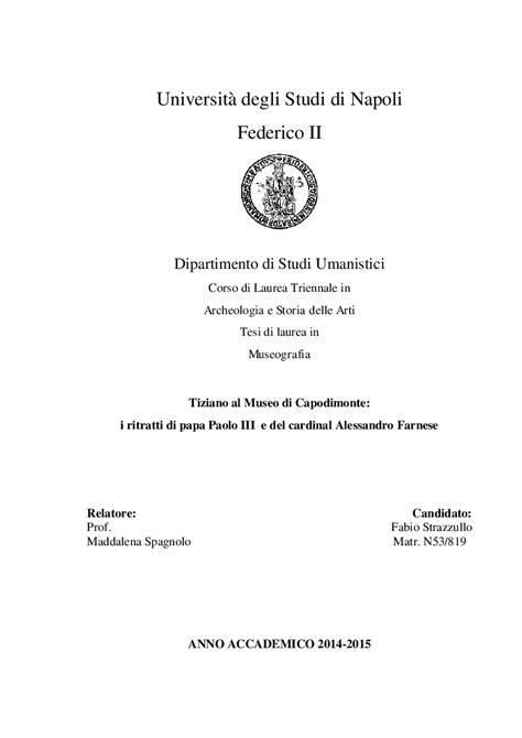universit 224 degli studi di napoli federico ii dipartimento