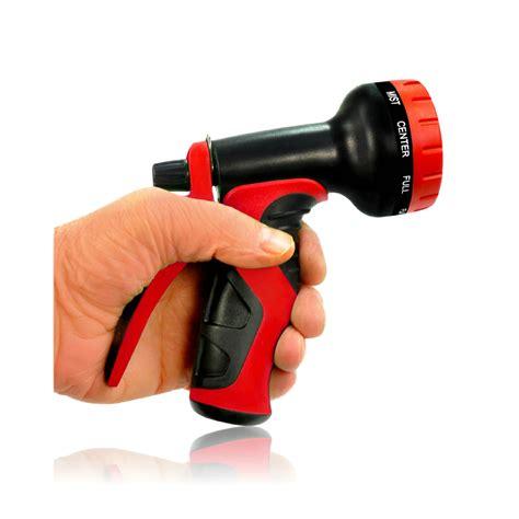 Gardeners Supply Spray Nozzle Top Garden Hose Nozzle With 9 Adjustable Spray