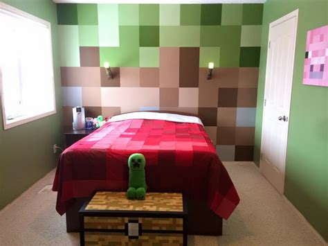 mine craft bedroom the dream minecraft bedroom geek decor