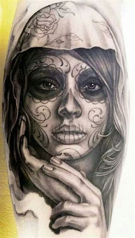 day of the dead woman tattoo designs 166 best day of the dead tattoos