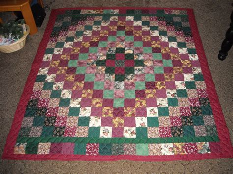 Trip Around The World Quilts by Size Quilt Burgundy Green Trip Around The World