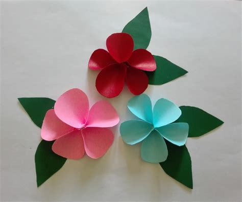 How To Make Flowers With Construction Paper - construction paper flowers in comfortable diy