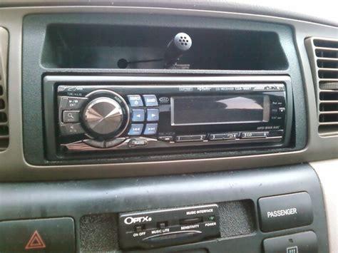 Toyota Corolla Radio 2004 Toyota Corolla Stereo Installation