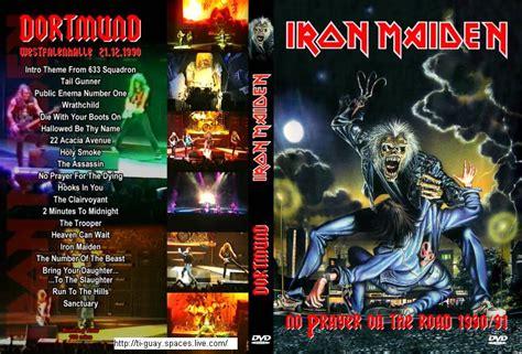 Kaos Musik Imn 07 Iron Maiden Ironmaiden jaquette dvd cover concert iron maiden