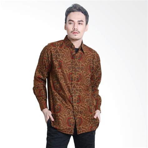 Baju Batik Pria Batik Katun Aamir Kinsler Bk120 jual aamir kinsler bk116p lengan panjang kemeja batik pria