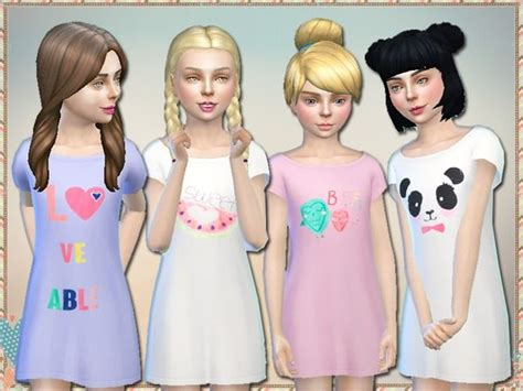 sims 4 children cc 528 best images about sims 4 clothes on pinterest