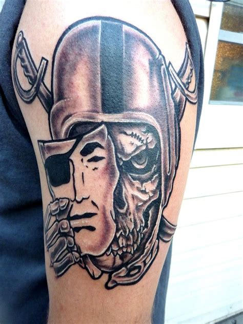 raiders skull tattoo designs raiders tattoos designs ideas and meaning tattoos for you