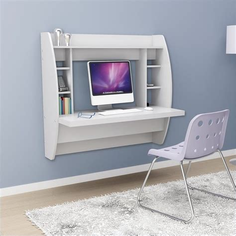 prepac wall mounted floating desk with storage in black new prepac white floating wall mount writing computer