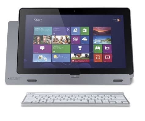 Keyboard Acer Iconia W700 acer announces iconia w700 windows 8 tablet for 799