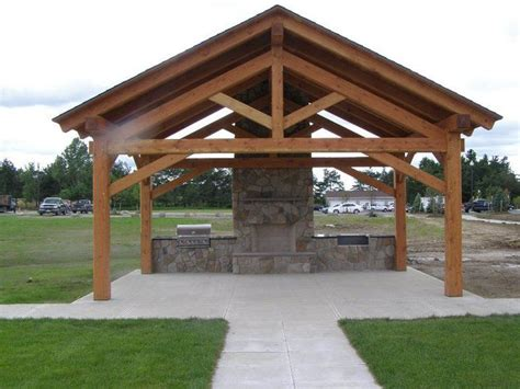 timber frame pavilion fort drum ny timber frame