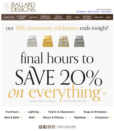 ballards design coupon 28 ballard designs coupon codes save ballard designs free shipping code ballard designs