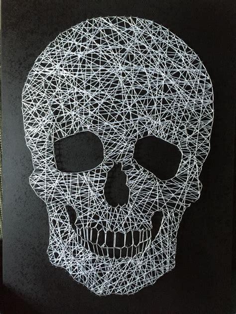 Skull String - string skull i made it skulls and