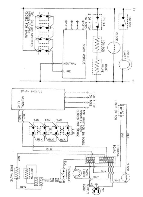 Wiring Electric Oven Diagram Wiring Diagram | Www.jzgreentown.com