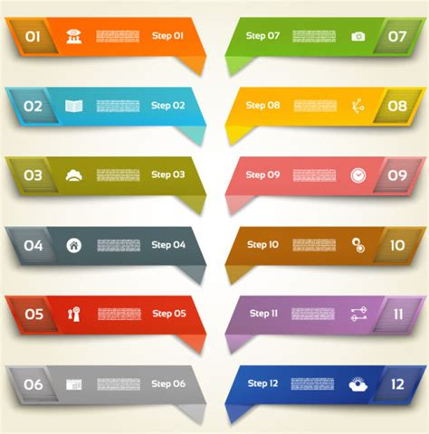 eps number format color number banners vector free vector in encapsulated