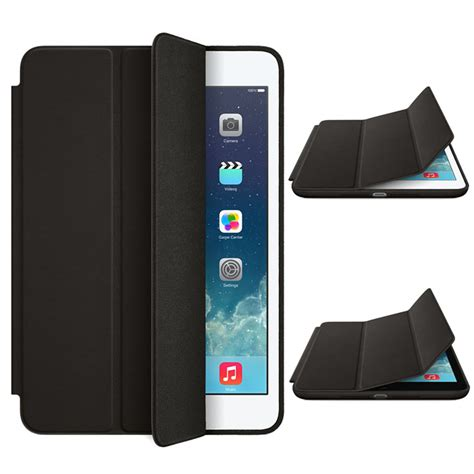 Covers For Cheap by Luxury Slim Stand Smart Leather Back Cover For Apple