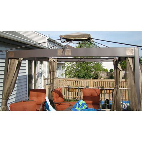 Menards Awnings by Menards 10 X 10 Gazebo Replacement Canopy And Netting