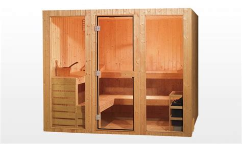 sauna traditionnel tornio sauna traditionnel 300x300x200 pour 7 8 personnes