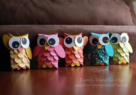 How To Make Owls Out Of Toilet Paper Rolls - kreat 237 v 246 tletek pap 237 rgurig 225 b 243 l sz 237 nes 214 tletek