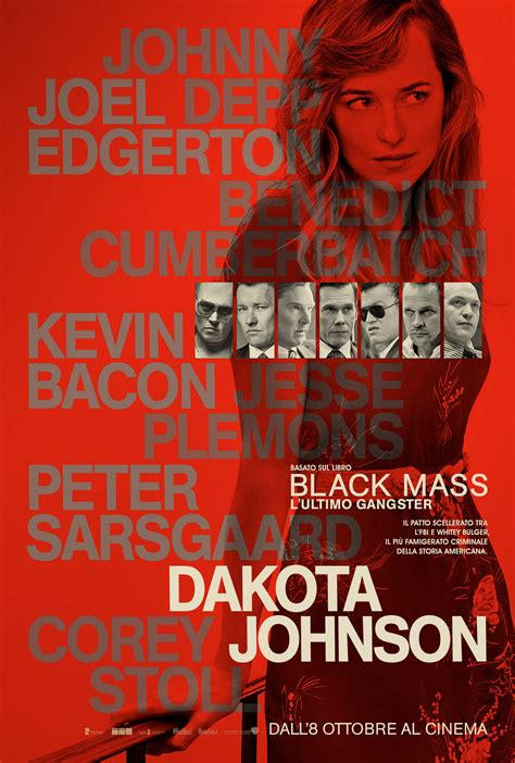 film l ultimo gangster black mass l ultimo gangster il character poster di