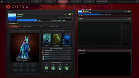 Find S Profiles Dota 2 How Do I View My Profile Arqade