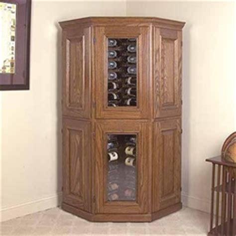 corner wine cabinets