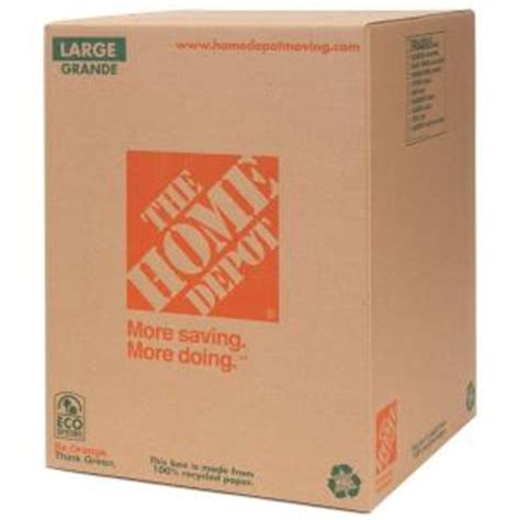 wardrobe packing boxes home depot the home depot 18 in x 18 in x 24 in 65 lb large box