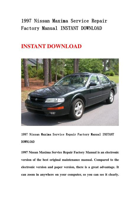 electronic throttle control 1995 nissan 240sx parental controls service manual how to download repair manuals 1997 nissan maxima parental controls nissan