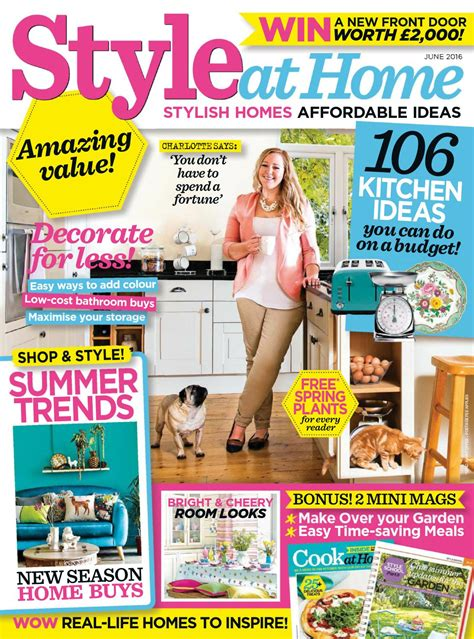 magazine ideal home june 2016 uk read online download magazine style at home june 2016 uk read online download